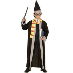 Disfraz de aprendiz de mago infantil