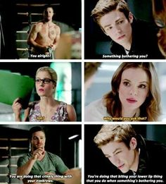 Olicity & Snowbarry parallels