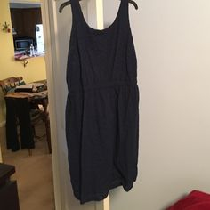Navy Blue Old Navy - Knee length dress Navy Blue Old Navy - Knee length dress Old Navy Dresses High Low