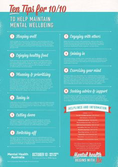 Maintaining mental health!