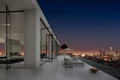 The 15th-floor penthouse at the Residences at W Hollywood in Los Angeles is on the market for $45 million. The 25,000-square-foot penthouse has four bedrooms, eight bathrooms and 340-degree views of the Hollywood Hills, downtown Los Angeles, Century City and the ocean.