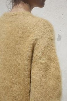 Trademark Full Sleeve Mohair Sweater in Camel | Oroboro Store | Brooklyn, New…