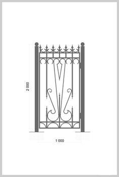 #Калитка / #Wrought_Iron_Doors #gate Артикул:k_04 Ширина, мм:1000 Высота, мм:2000 Покрытие:Пентал Амор Цена: 15 100 руб./шт.  Подробное описание на сайте. #metalmade