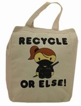 Recycle Or Else! Tote Bag
