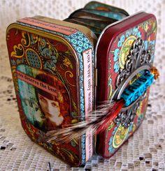 TRUST  Treasure Box Book/Pocket Shrine by LittleJoysStudio on Etsy, $42.00