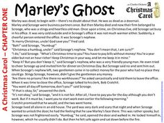 Charles Dickens' A Christmas Carol in chapter summaries. Aimed at Reading Level 3c - 4a with some challenging (and old fashioned) vocabulary. Primary years. || Ideas, activities and revision resources for teaching GCSE English || For more ideas please visit my website: www.gcse-english.com ||