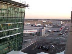 """Aeroporto de Londres Heathrow"". #Londres, Inglaterra (Reino Unido)."