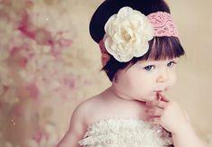 Acessórios para Cabelos de Bebês (Foto: Divulgação)