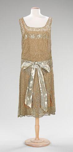 Evening Dress. c. 1925