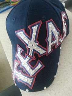 Blinged Out Texas Rangers Hat by AnyTeamBling on Etsy, $23.00