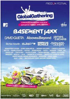 Global Gathering Poster