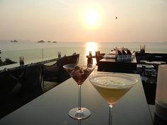サムイ島の夕日に乾杯 バーン タリンガム リゾート - サムイ島現地情報 サムイ島「Weekly Samui」