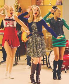 Glee Season 4 - The girls are back! The Unholy Trinity