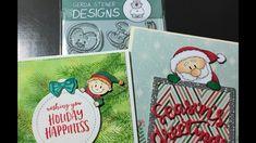 Peeking Christmas Cards for Not2Shabby
