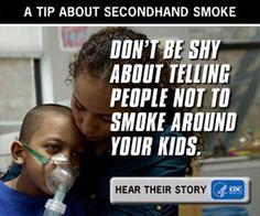 Adenilla on vaikea astma. Hän saa kohtauksen tupakan savusta.