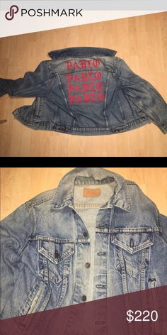 1c1f595f3 Pablo denim jacket Pablo denim jacket. These jackets are VINTAGE Levi s so  there are signs