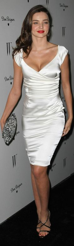 http://www.trendzystreet.com/clothing/dresses - satin w pop of color on lips