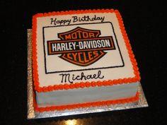 Harley Davidson Happy Birthday Cakes   Happy Birthday Spicey Yeah...