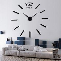 3D DIY Home Decor Quartz Wall Clock – marketplacefinds