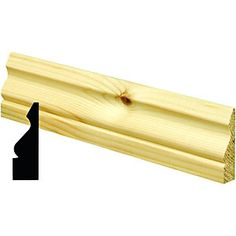 Wickes Pine Ogee Architrave 15x57x2100mm Pack 5