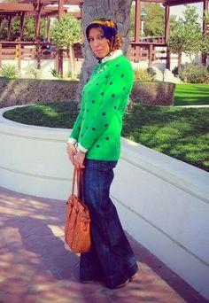 Love me some polka dots! - Haute Hijab