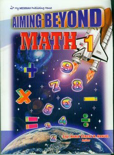 The AIMING BEYOND MATH Series (Grade 1 - 6) Grade 1, Bamboo, Math, Frame, Products, Picture Frame, Math Resources, Frames, Gadget
