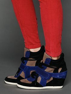 Bowie Multi Strap Wedge Sneaker  http://www.freepeople.com/whats-new/bowie-multi-wedge-sneaker/