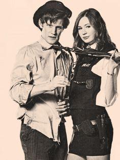 Matt Smith, Karen Gillan