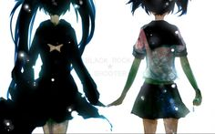 mato and black rock shooter