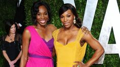 Venus Williams (L) and Serena Williams arrive at the 2012 Vanity Fair Oscar Party hosted by Graydon Carter at Sunset Tower on February 26, 2012 in West Hollywood, California. (Photo by Alberto E. Rodriguez/Getty Images)