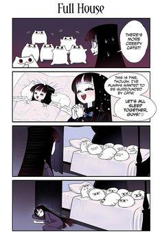Creepy Cat Chapter 19: Full House page 1 - MangaWK.com