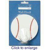 Kids Sports Baseball Wall Hook By Home Trends Amazon