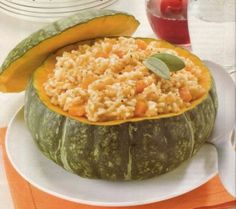 Risotto with pumpkin!