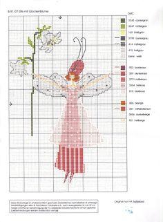 Hada con flor