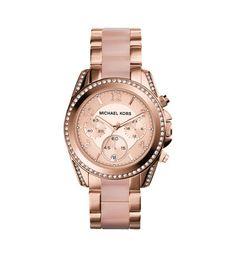 Montre MICHAEL KORS MK5943 en doré rosé prix promo Montre Femme Galeries Lafayette 299.00 €