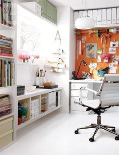 5 oficinas súper inspiradoras / 5 inspiring home office designs / Casa Haus