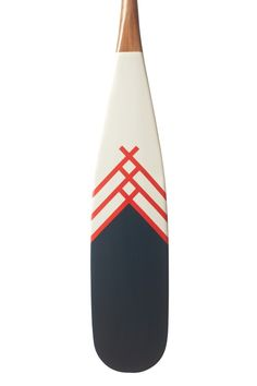 Navy, white and red line