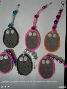 Lainattu kuva Facebook Diy For Kids, Crafts For Kids, Diy And Crafts, Arts And Crafts, Crafty Kids, Work Inspiration, Washer Necklace, Stuff To Do, Personalized Items