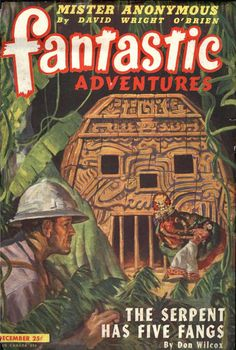 Comic Book Cover For Fantastic Adventures v07 05