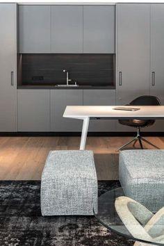 Gabriel, Interior Design Inspiration, Ottoman, Chair, Architecture, Interior Architects, Furniture, Home Decor, Kitchen Black