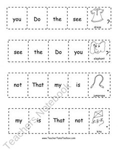 Printables Building Sentences Worksheets sentence building repinned by sos inc resources pinterest com sight word sentences