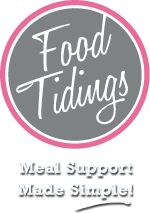 Food Tidings - Where you can easily organize meal support for your friends and family during their times of need. Meal support made simple! If friends and family would like to help with meals after baby's born, people will know what days others are already bringing meals so the family doesn't have five casseroles one day and none the next two!