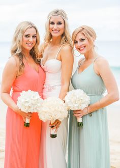 Love these colors together  Photography: Brooke Merrill Photography  - www.brookemerrill.com   Read More: http://www.stylemepretty.com/destination-weddings/2014/11/05/destination-beach-wedding-in-thailand/