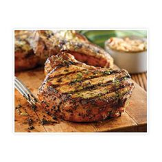 Worlds Best Recipes: Grilled Pork Chops with Basil-Garlic Rub. Here is a really wonderful pork chop recipe that you can make. It makes the best tasting pork chops you'll ever eat in your life. So lets make pork chops. I love pork chops Pork Chop Recipes, Grilling Recipes, Cooking Recipes, Cooking Rice, Tailgating Recipes, Healthy Grilling, Cooking Turkey, Cookbook Recipes, Easy Cooking