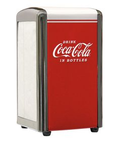 Loving this 'Drink Coca-Cola' Napkin Dispenser on #zulily! #zulilyfinds