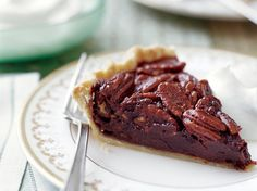 Chocolate Pecan Pie | Dark chocolate gives this classic dish a deep flavor and fudgy texture. Plus: Ultimate Thanksgiving Guide Plus: More Dessert Recipes and Tips ...