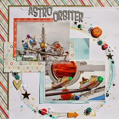 Creatively Savvy: Astro Orbiter - Susan Stringfellow - Thats My Boy collection by Echo Park Paper