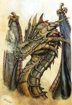 Dragoncolor1 by *Ilustralia on deviantART