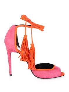 majorelle lace up suede sandals pierre hardy matchesfashioncom uk matchesfashion