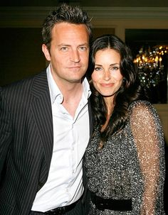 Matthew Perry Reunites With Friends Wife Courteney Cox on Cougar Town - Us Weekly